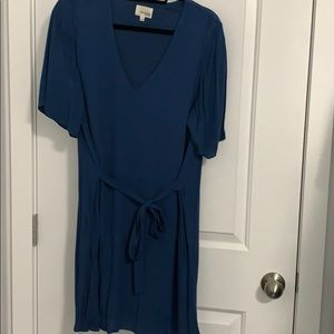 Wilfred Free Tie front T shirt dress